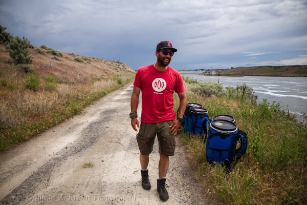 Feature image of Martin Trahan smiling while wearing his LOWA Renegade GTX MID hiking boots